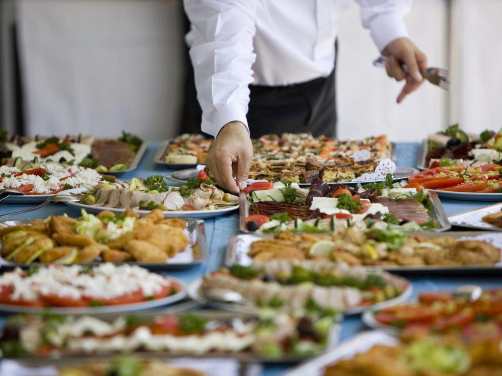 Running a catering company